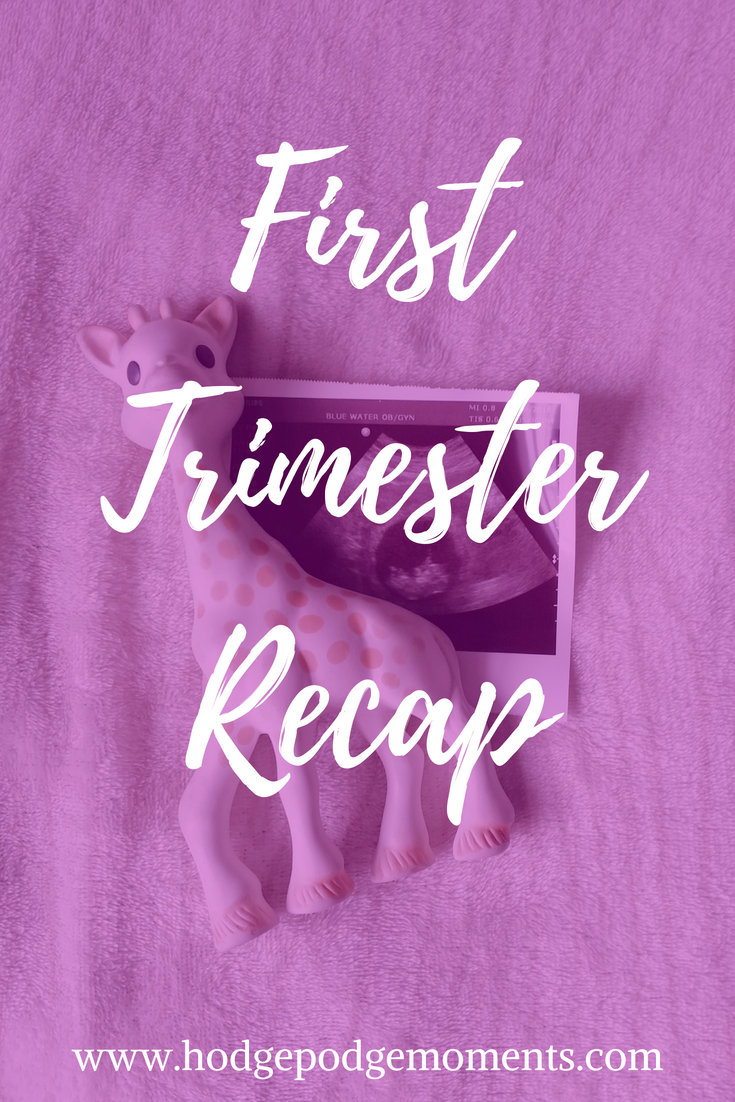 Recap of the First Trimester