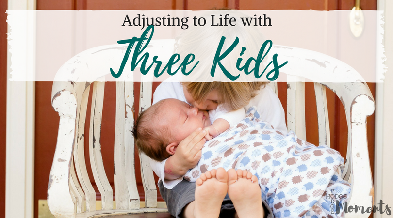 Adjusting to Life with Three Kids