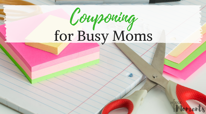 Are you a busy mom looking to learn more about couponing? This post is filled with tips and tricks to make it easier!