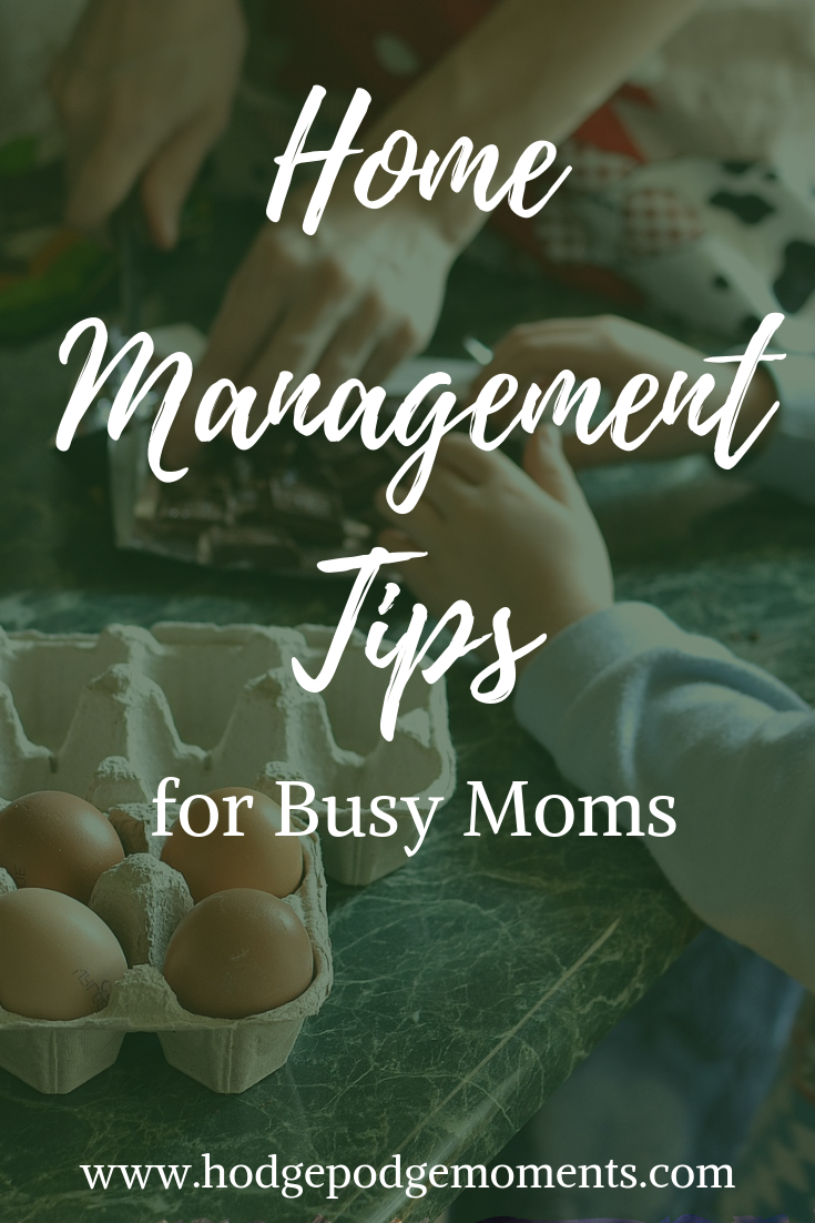 Keep your home and schedule in order with these simple tips for busy moms!