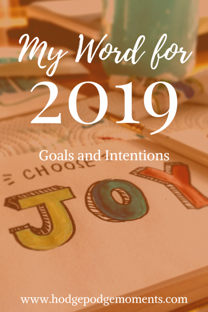 Want to know what word I picked for the new year? In this post, I share my word and goals for 2019.