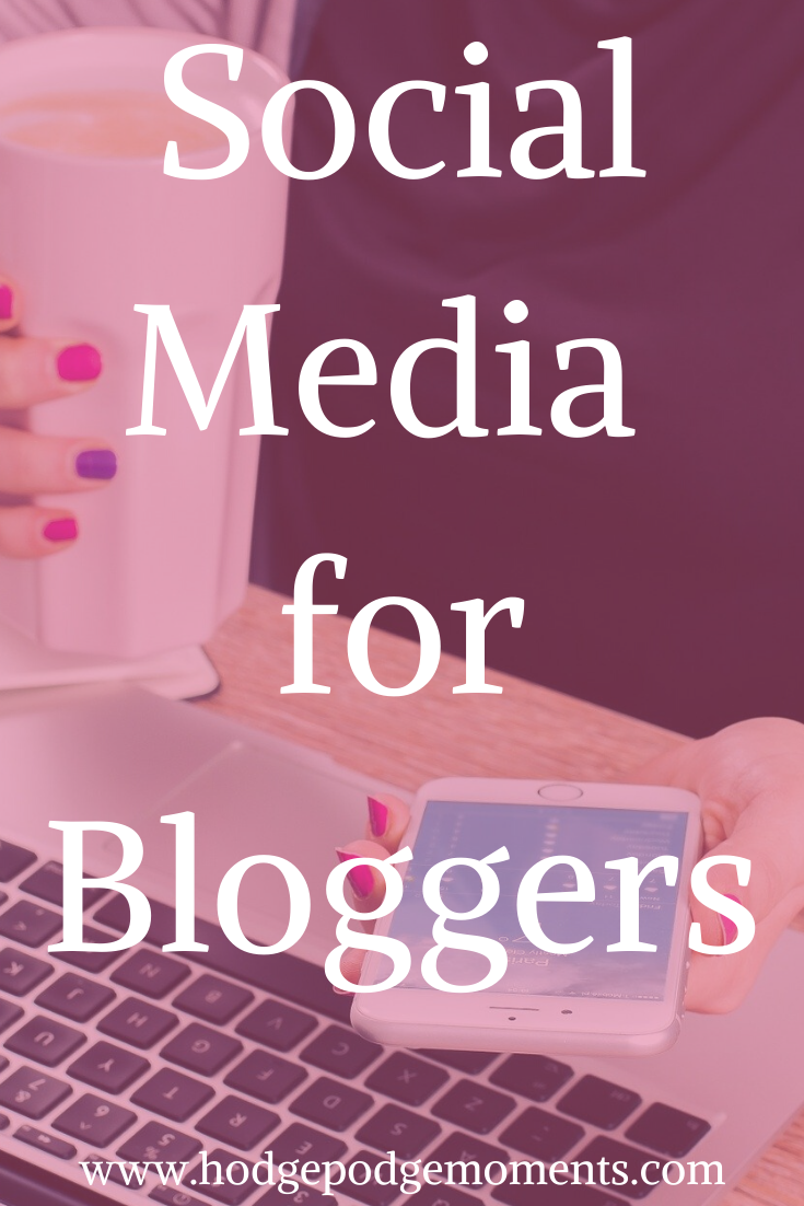 Tips for picking the right social media platforms as a blogger.