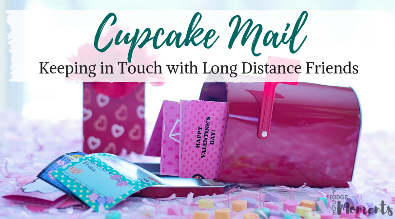 Long Distance Friends and Cupcake Mail