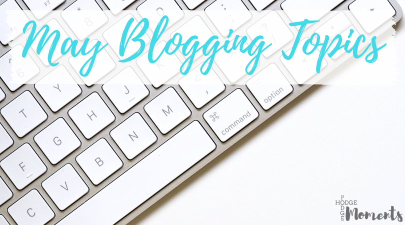 Popular Blog Post Topics for May