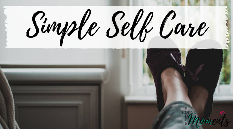 Simple Self Care for the Busy Mom