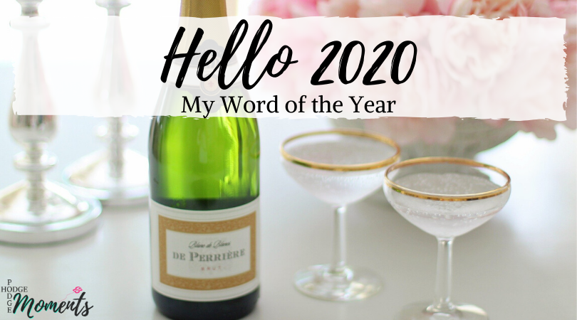 Find out what I'm changing in 2020 and how I plan to embrace my new, unique word!